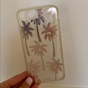 Rose Gold Palm Tree Case